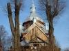 cerkiew w Hoszowie, Bieszczady