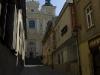 Przemyśl. Katedra grekokatolicka w perspektywie ul. Asnyka