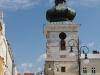 Krosno. Wieża kościoła farnego