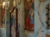 Świątynie. Górzanka, fragment odrestaurowanego ikonostasu w dawnej cerkwi