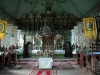 Świątynie. Komańcza, wnętrze cerkwi prawosławnej z lat 1800-03